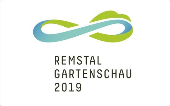 Remstal Gartenschau 2019 Logo grün blau - Kunde von STEP Advertainment